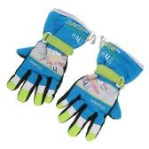 メンズスタイリッシュな屋外スキーサイクリング乗馬手袋暖かい冬の手袋を肥厚します