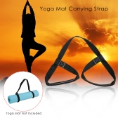 Adjustable Yoga Mat Carrying Strap Sling Stretch Belt Band