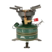 BRS Outdoor Camping Hiking Portable Integrated Non-preheating Gasoline-burning Fuel Stove Gasoline Camping Stove Fishing Picnic Furnace Boiler Cooker