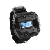 2-in-1 LED Watch Flashlight Wristlight Rechargeable Lamp Wrist Lighting Outdoor Torch