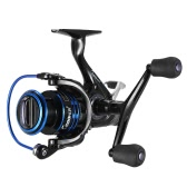 Carp Spinning Fishing Reels Left/Right Handle Metal Spool 9+1BB Stainless Steel Shaft Rear Drag Wheel