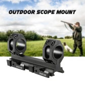 "Outdoor Riflescope Mount Quick-release Hunting Scope Mount for 30mm and 1"" Scope Tubes"