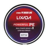 Lixada 300M / 330Yds 8ストランドPE編組釣りライン超強力マルチフィラメントフィッシングラインコープフィッシュラインワイヤーロープコード20-90lb