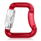 Lixada Outdoor Safety Rock Climbing Equipment Master Hook 18KN Paragliding Paraglider Parachute Clip Locking Carabiner