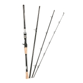 4 Sections Spinning Casting Fishing Rod High 99% Carbon Rods Fishing Pole