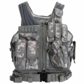 Outdoor Military Tactical Army Polyester Airsoft War Game Hunting Vest for Camping Hiking