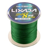 Lixada 100M Super Strong Multifilament Polyethylene Braided Fishing Line 25LB to 60LB