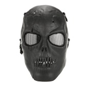 Tactical Airsoft Mask Full Face Costume Mask Outdoor Protective Face Mask for Wargame Airsoft Halloween Party Cosplay