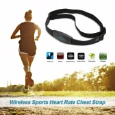 Bluetooth 4.0 Wireless Sport Heart Rate Monitor Chest Strap Fitness ANT Smart Sensor for iPhone Cell Phone