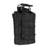 Tactical Double Magazine Mag Pouch Outdoor Military Gear Hunting Bag Accessory Pouch Utility Tool
