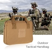 Outdoor Tactical Handbag Padded Magazine Case Bag Laptop Storage Bag Carry Case Hunting Military Bag