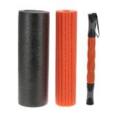 45*15cm 3-in-1 Yoga Exercise Fitness Massage Spike Yoga Foam Roller Yoga Column Massage Trigger Point Stick Home Gym