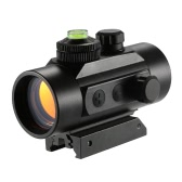 1x30mm Mini Illuminated 5MOA Red Dot Sight Riflescope Outdoor Tactical Hunting Scope