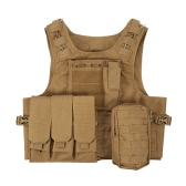 Outdoor Vest Body Molle Jacket CS Jungle Equipment