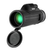 ポータブルコンパクト10X42野外望遠鏡単眼望遠鏡スコープでワイルドライフ・コンサートを観る