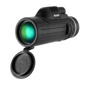 Portable Compact 10X42 Monocular Telescope Scope for Outdoor Bird Watching Wildlife Concerts