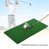 TOMSHOO 60*30cm Golf Mat Residential Practice Hitting Mat Rubber Tee Holder