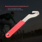バイク自転車サイクリングボトムブラケットアクスルロックリングリムーバーツールの修復ツール