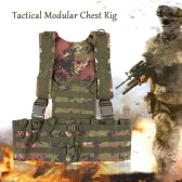 Docooler Military Tactical Modular Chest Rig Hunting Vest Paintball Airsoft Wargame Protective Vest Armor