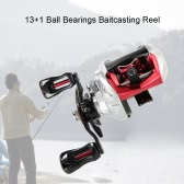 13+1BB Ball Bearings Fishing Baitcast Reel Baitcasting Reel 6.3:1 Gear Ratio Star Drag