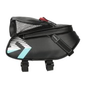 ROSWHEEL Reflective Bicycle Bag Saddle Bag Outdoor Cycling MTB Mountain Bike Seat Rear Bag Tail Bag Pouch Tool Bag with Water Bottle Holder