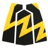 5pcsサーフリッパートラクションテールパッドサーフサーフボードサーフデッキグリップサーフィンとスキムボード用粘着ストンプパッド