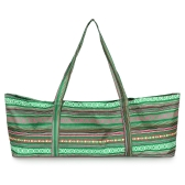 Yoga Mat Bags Yoga Tote Bag Carrier Stripe Printing Pattern with Pocket and Zipper