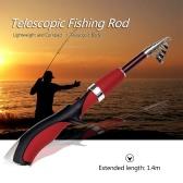 1.4m Telescopic Mini Fishing Rod Folding Rod Pole Portable Fishing Rod Fishing Tackle