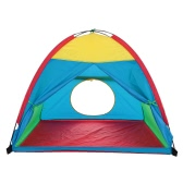 TOMSHOO  子供遊ぶテント 知育玩具 ギッズテント おもちゃ テント 秘密基地 室内室外 カラフルなハウス 誕生日のプレゼント