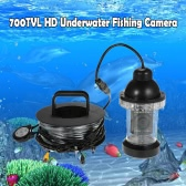 700TVL HD Underwater Fishing Camera Waterproof Infrared IR LED Lights Fish Finder 360 Degree Rotating Fishing Video Camera with 20m Cable