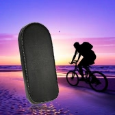 Bicycle Soft Cushion Seat Cycling Bike Rear Seat Foam Padded Cushion for Rear Rack Black