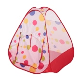 Lixada Kids Play Pop Up Dot Tent House Portable Folding Tent Indoor Outdoor Kids Playhouse Tent Toy for Children