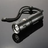 TrustFire DF011 800LM LEDダイビングスキューバ懐中電灯トーチ白光ランプ