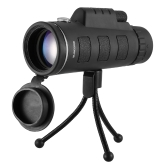 40X60高倍率眼鏡付き単眼望遠鏡コンパスと三脚広角単眼スコープ