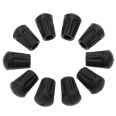 10Pcs Hiking Pole Replacement Tips Trekking Pole Tip Protectors