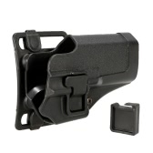 Right-handed Plastic Concealment Combat Holster Hunting Shooting Holster
