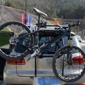 車SUVバイクヒッチマウント自転車キャリアは、トランクマウントラックラック