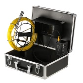 "7"" LCD Monitor Pipeline Video Inspection Camera Waterproof Underwater Drain Pipe Sewer Inspection Camera Industrial Endoscope Baroscope Inspection System with 30m Cable"