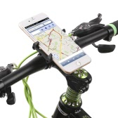 GUB Anti-Slip Bicycle Adjustable Phone Holder Mount Bracket Handlebar Clip Stand for 3.5-6.2inch Smart Mobile Phone for Android for iPhone