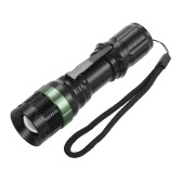 700LM Bicycle Light Torch Adjustable Focus Zoom Zoomable LED Handheld Flashlight Bike Light