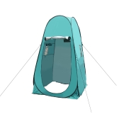 Portable Camping Tent Privacy Changing Tent Pop-up Camping Tent Outdoor Shower Toilet Changing Room Shelter with Carry Bag