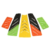 5pcs Surf Ripper Traction Tail Pads Surfing Surfboard Surf Deck Grips Adhesive Stomp Pad for Surfing and Skimboarding