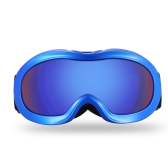 Lixada Anti-fog Ski Goggles UV Protection Dual Lens Snowboard Goggles Windproof Snow Skating Skiing Sports Goggle for Kids