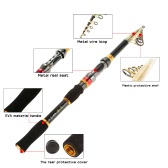 6 & 7 Segments Telescopic Carbon Fishing Rods Casting  Fishing Rod 2.1m / 2.4m