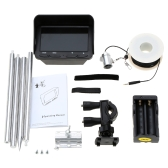 "4.3"" 720P Color LCD Monitor Night Vision Underwater Camera Fish Finder with 30m Cable"