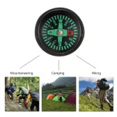 Lixada 5pcs Mini Oil Filled Compass Set for Watchband Paracord Bracelets Outdoor Camping Hiking Travel Emergency Survival Tool