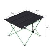 Docooler Compact Portable Camping Versatile Table Folding Table in a Bag for Beach Picnic Camping Patio Fishing