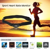 Bluetooth 4.0 Wireless Sport Heart Rate Monitor Chest Strap Band Running Fitness Exercise for iPhone for Android