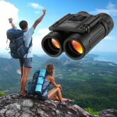 8x21 Folding Pocket Binocular Compact Mini Roof Prism Travel Telescope Kids Binocular Gift