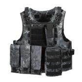 Outdoor Vest Body Molle Jacket CS Jungle Equipment